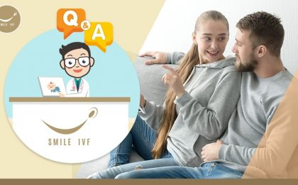 question and answer smile ivf