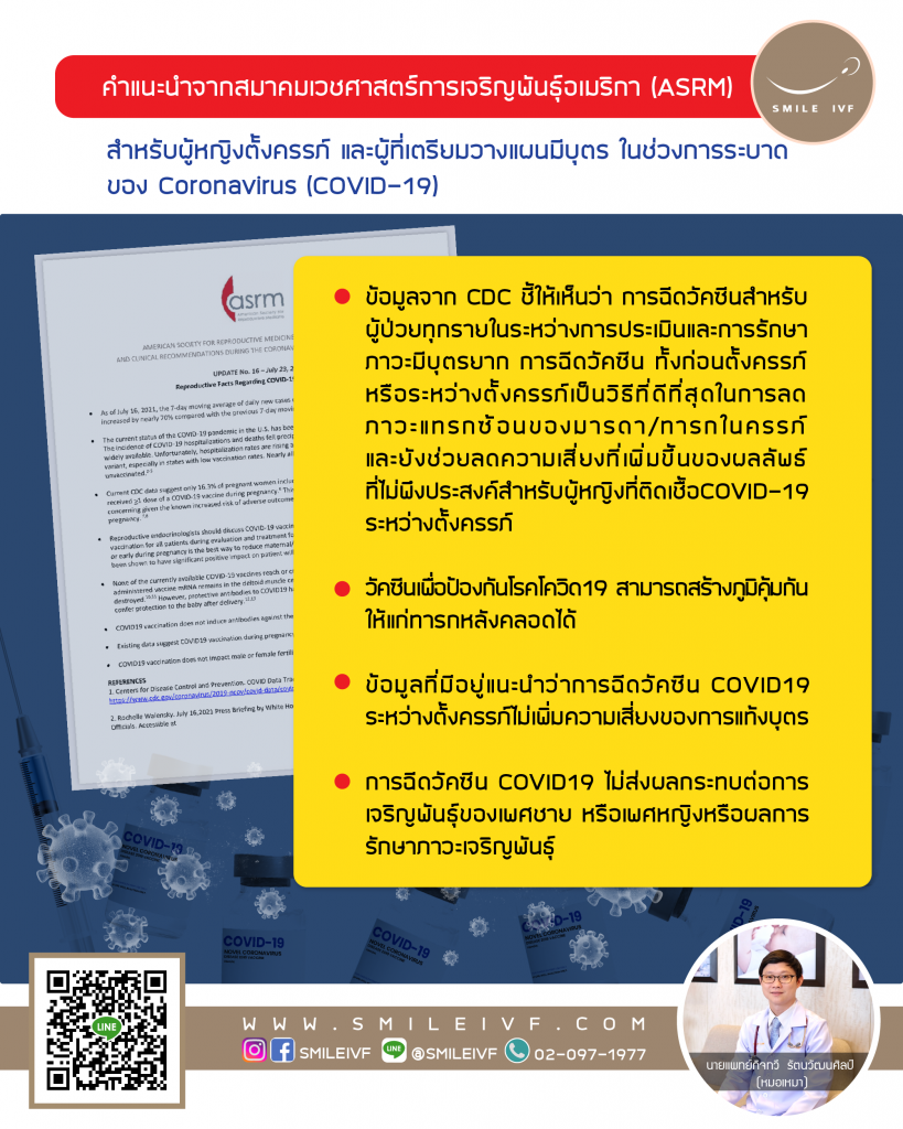 UPDATE No. 16 - Reproductive Facts Regarding COVID-19 Vaccination